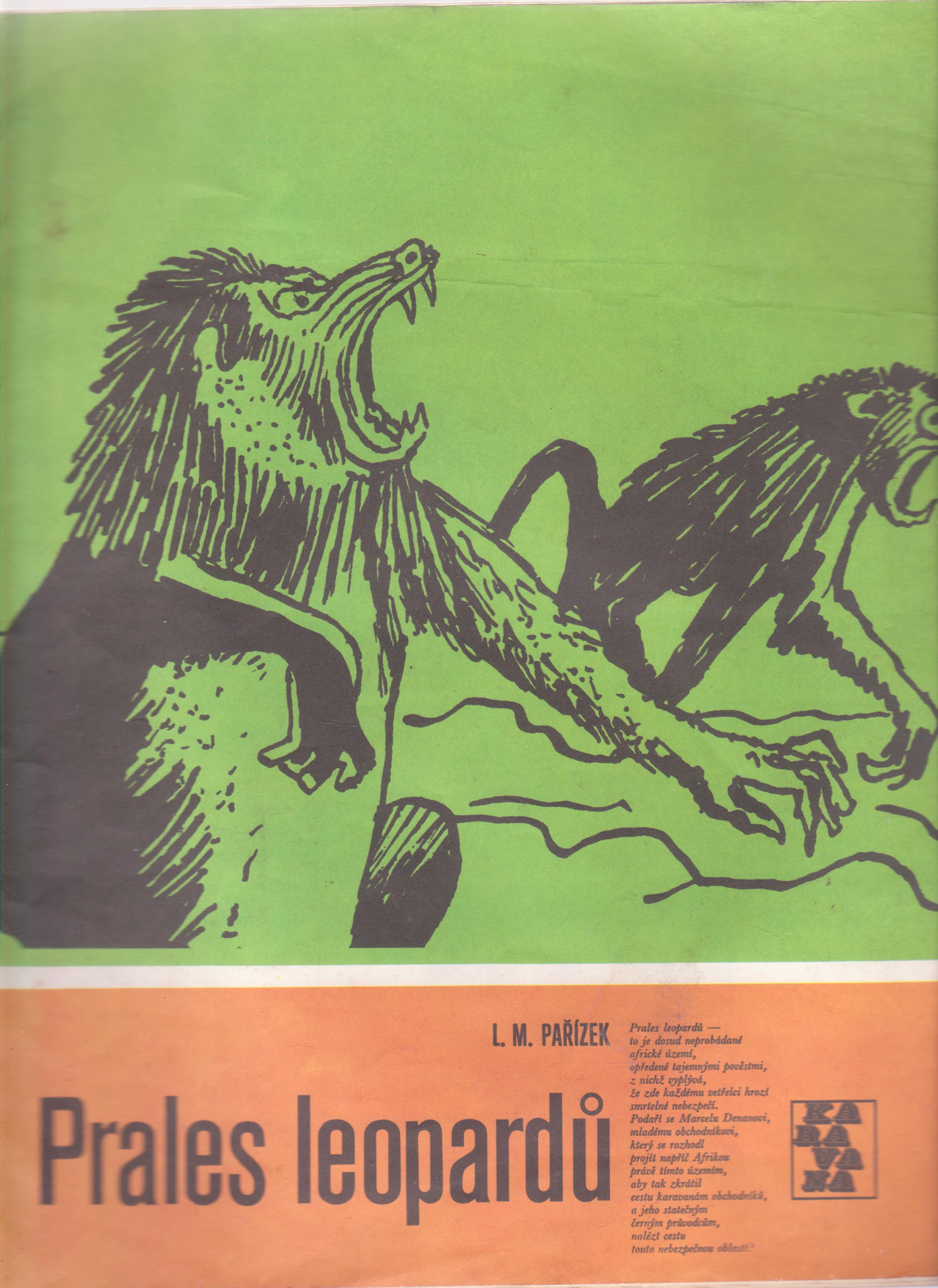 Prales leopardů - L. M. Pařízek (KARAVANA)
