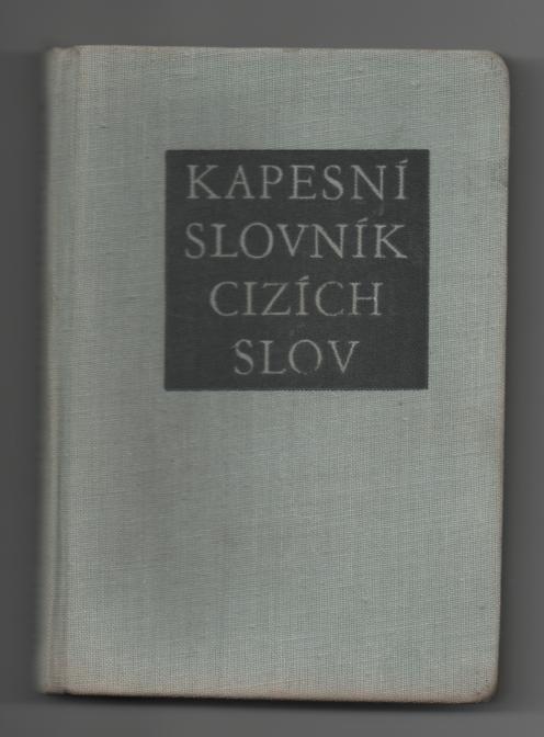 Kapesní slovník cizích slov - Jiří Haller