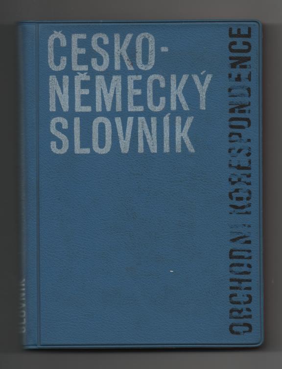 Česko-německý slovník obchodní korespondence - Dušan Závada