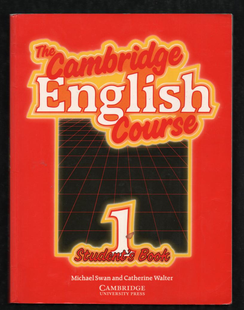 The Cambridge English Course 1 - Michael Swan, Catherine Walter (anglicky)