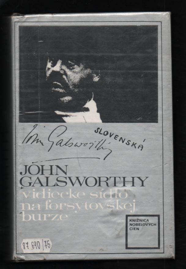 Vidiecke sídlo na forsytovskej burze - John Galsworthy (slovensky)