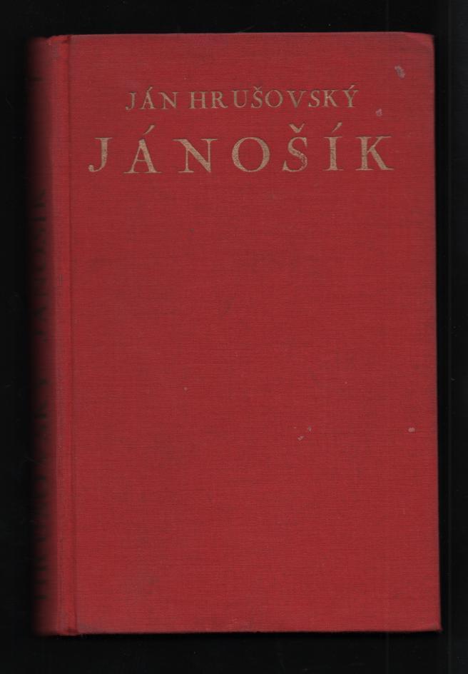 Jánošík 1. - Ján Hrušovský (slovensky)
