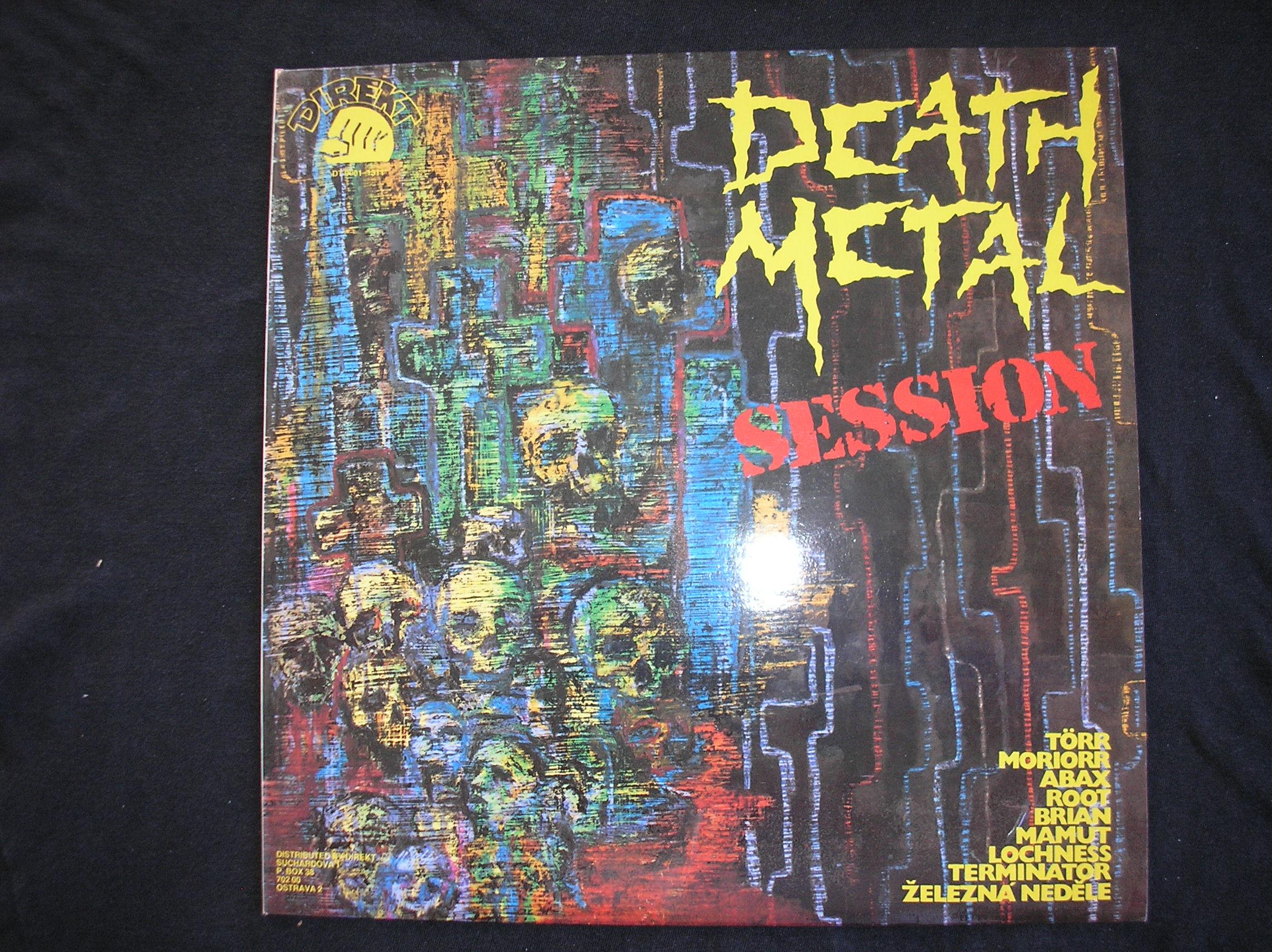 Death Metal -Session (gramodeska)