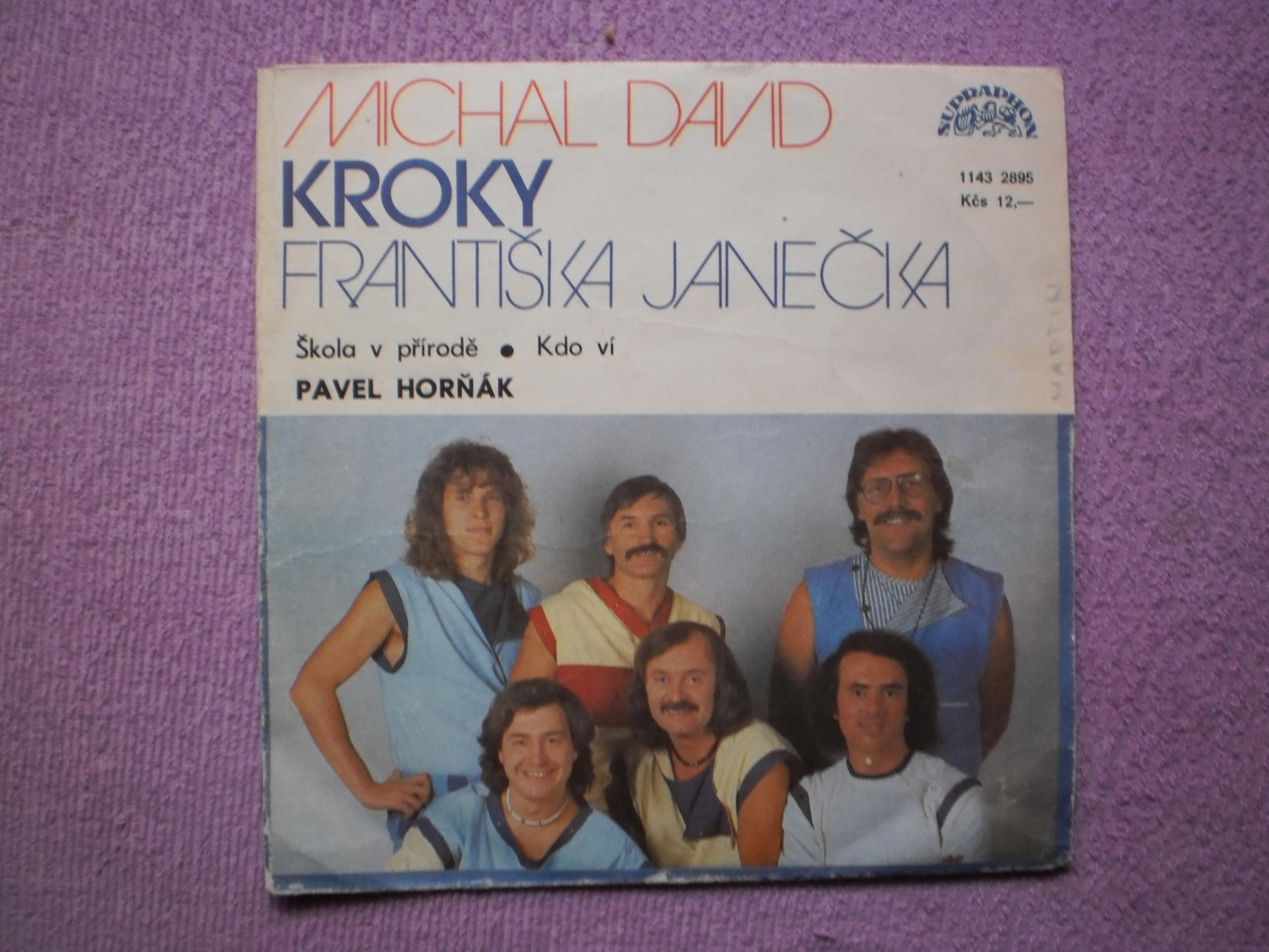 To se oslaví - Michal David a KROKY Františka Janečka (gramodeska)