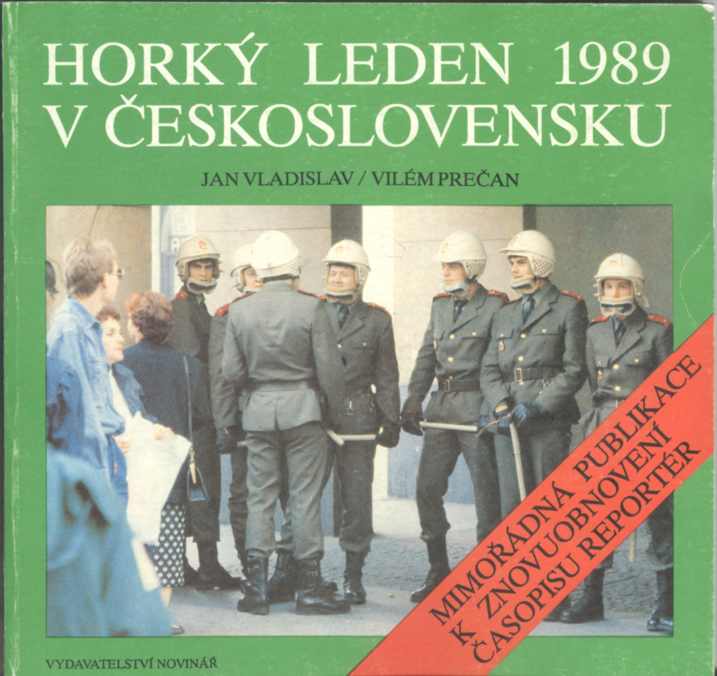 Horký leden 1989 v Československu - Jan Vladislav, Vilém Prečan