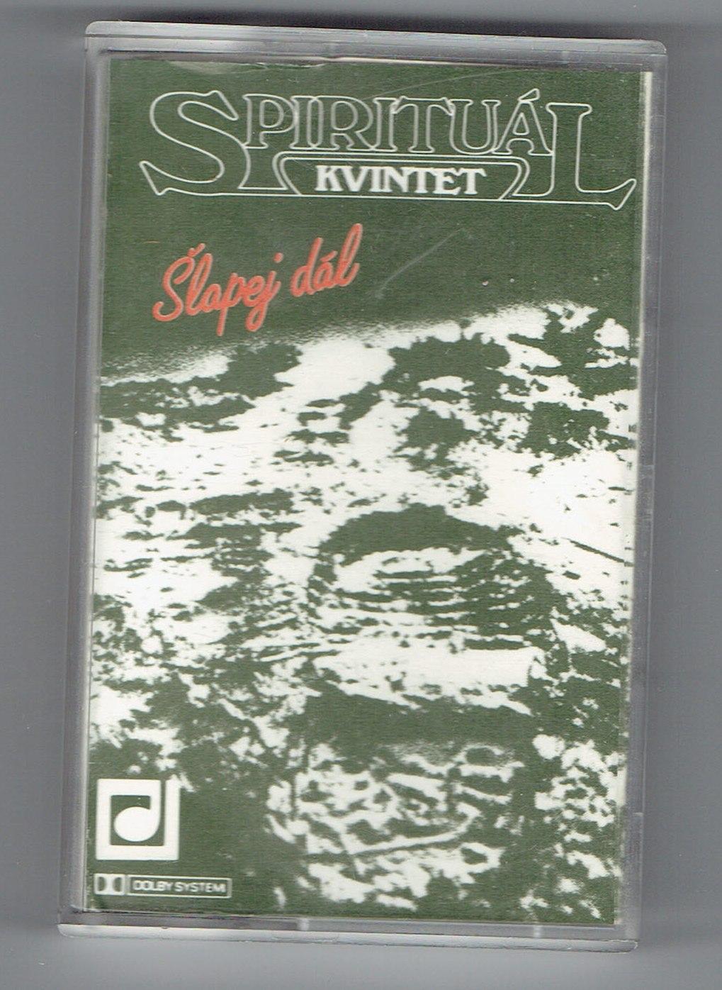Šlapej dál - Spirituál kvintet (kazeta)