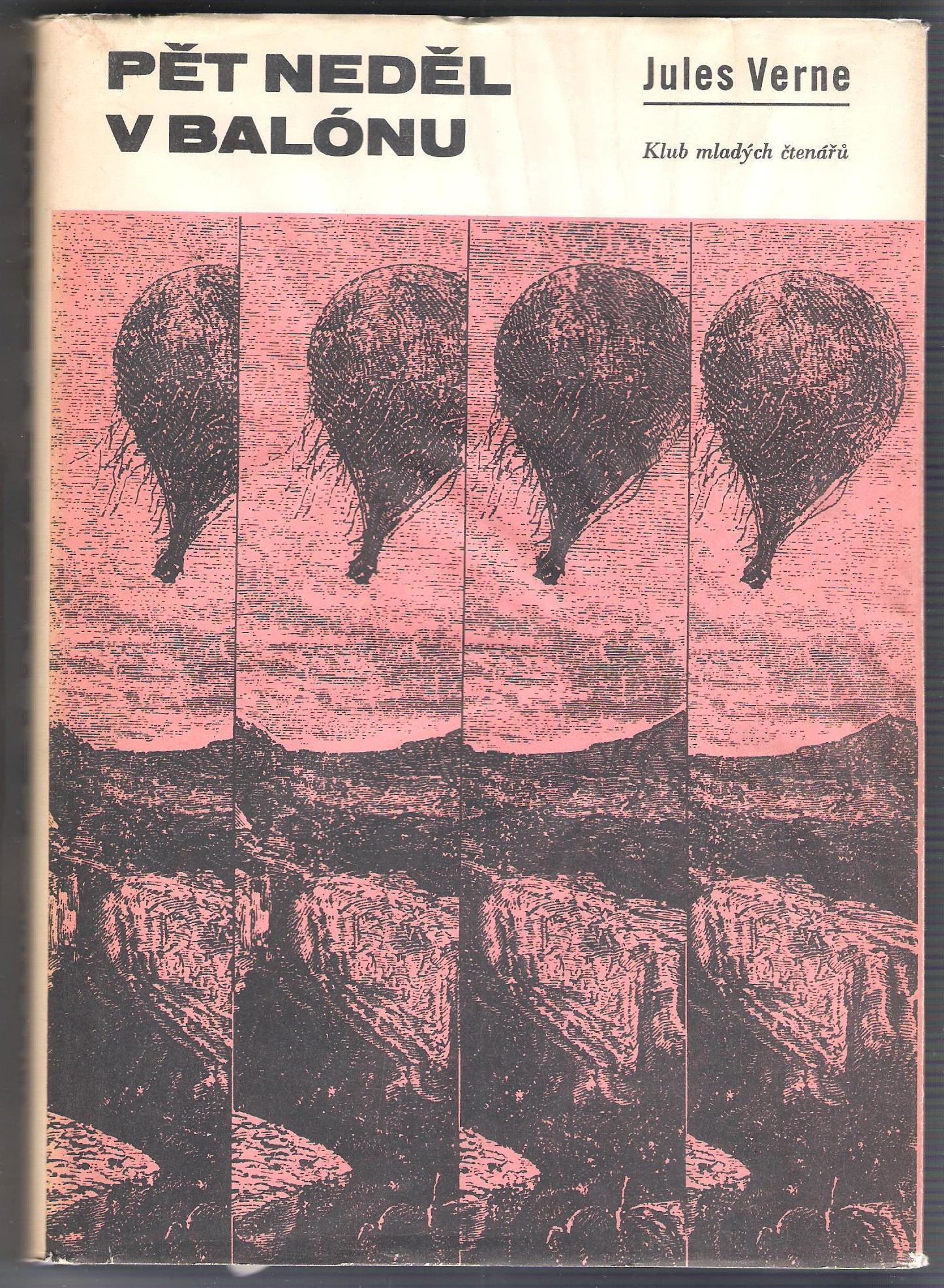 Pět neděl v balónu - Jules Verne