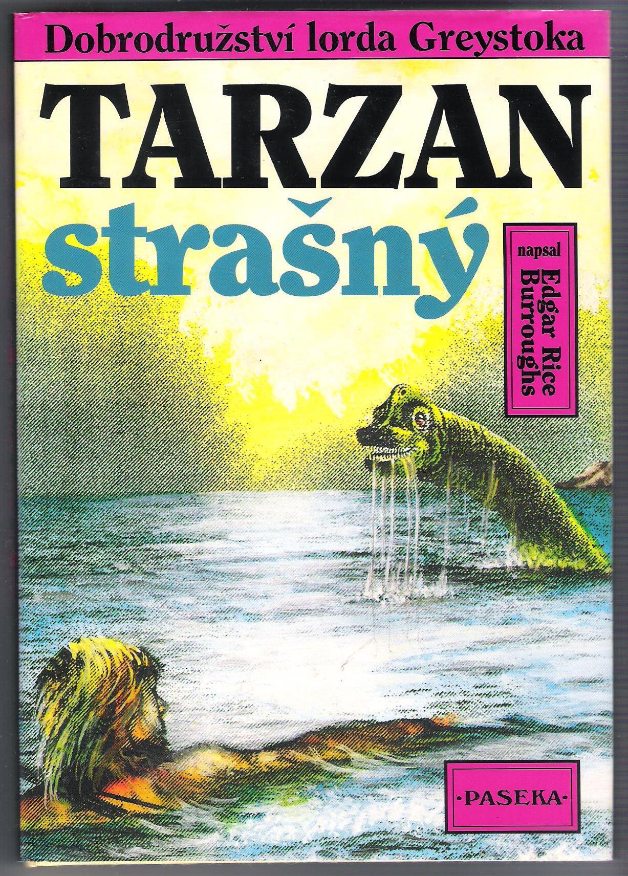 Tarzan strašný - Edgar Rice Burroughs