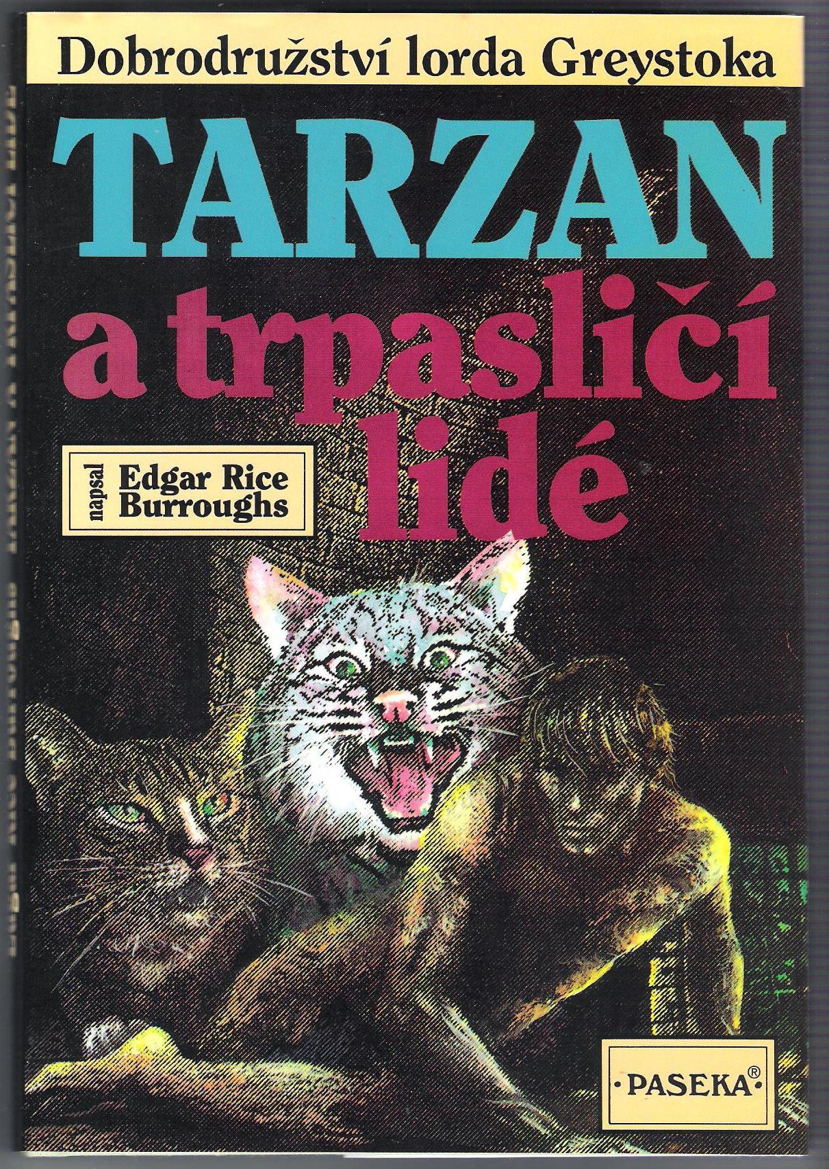 Tarzan a trpasličí lidé - Edgar Rice Burroughs