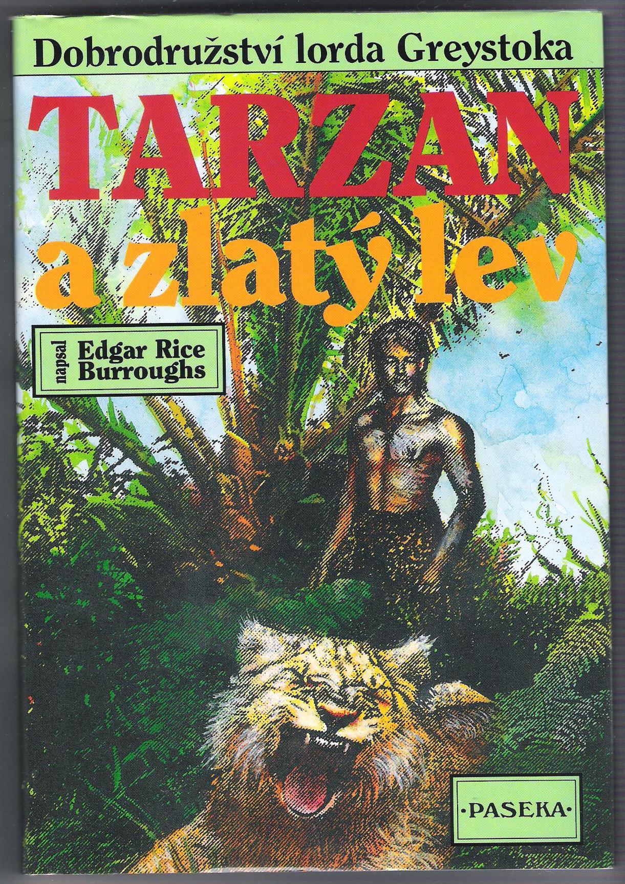 Tarzan a zlatý lev - Edgar Rice Burroughs
