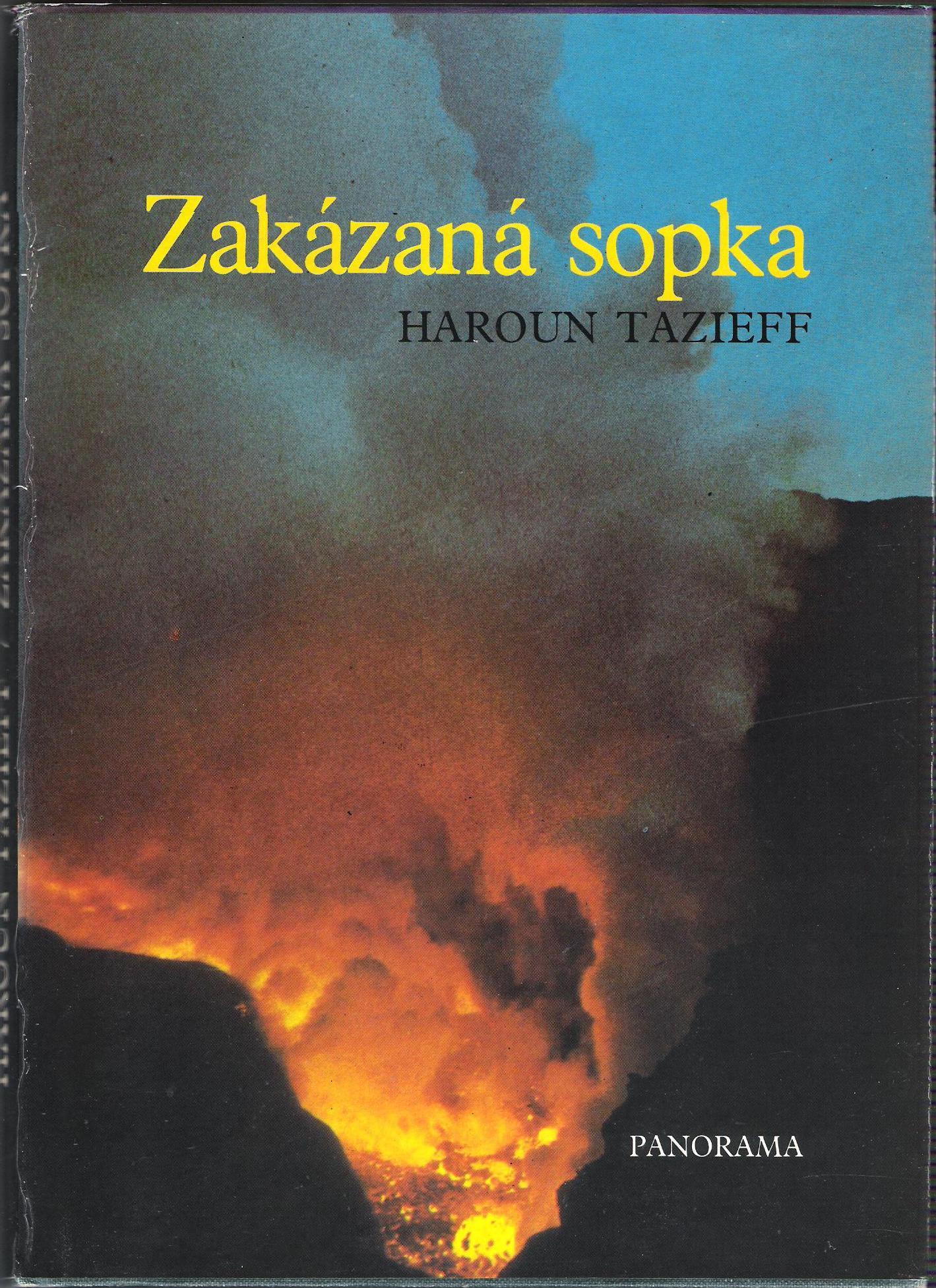 Zakázaná sopka - Haroun Tazieff
