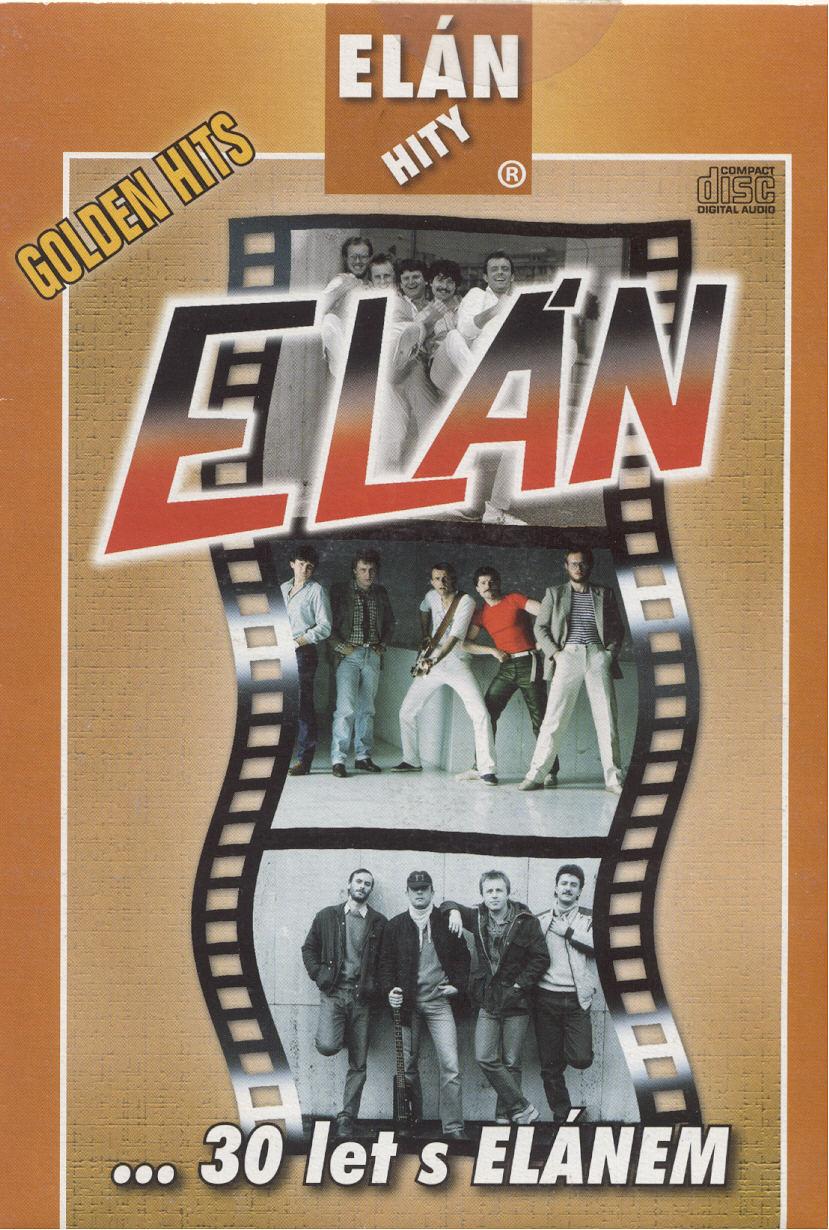 CD - Golden hits (...30 let s Elánem) - Elán