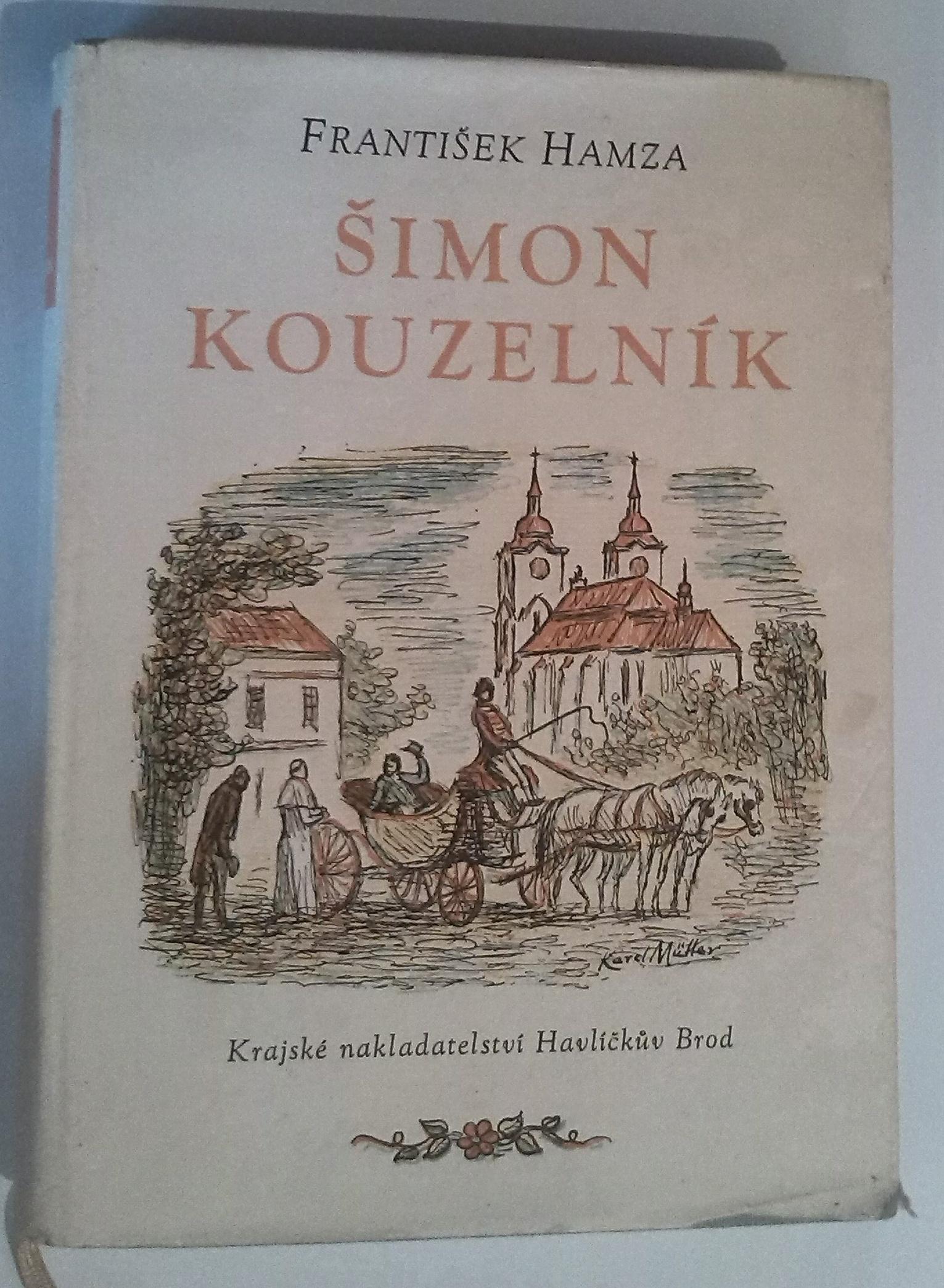 Šimon kouzelník - František Hamza