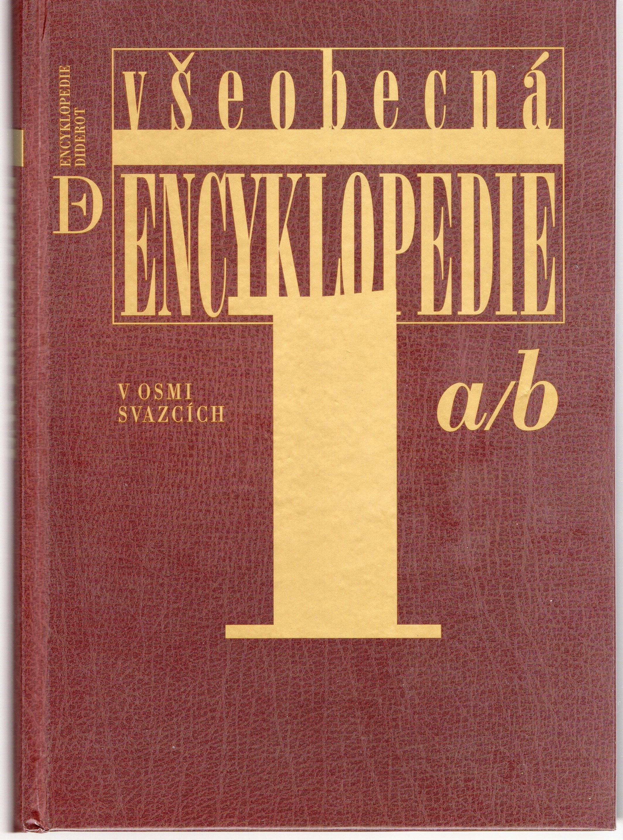 Všeobecná encyklopedie I.-VIII. svazek - kolektiv autorů