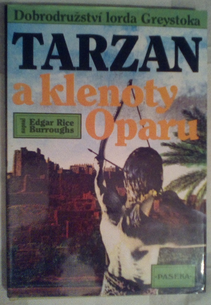 Tarzan a klenoty Opraru - Edgar Rice Burroughs