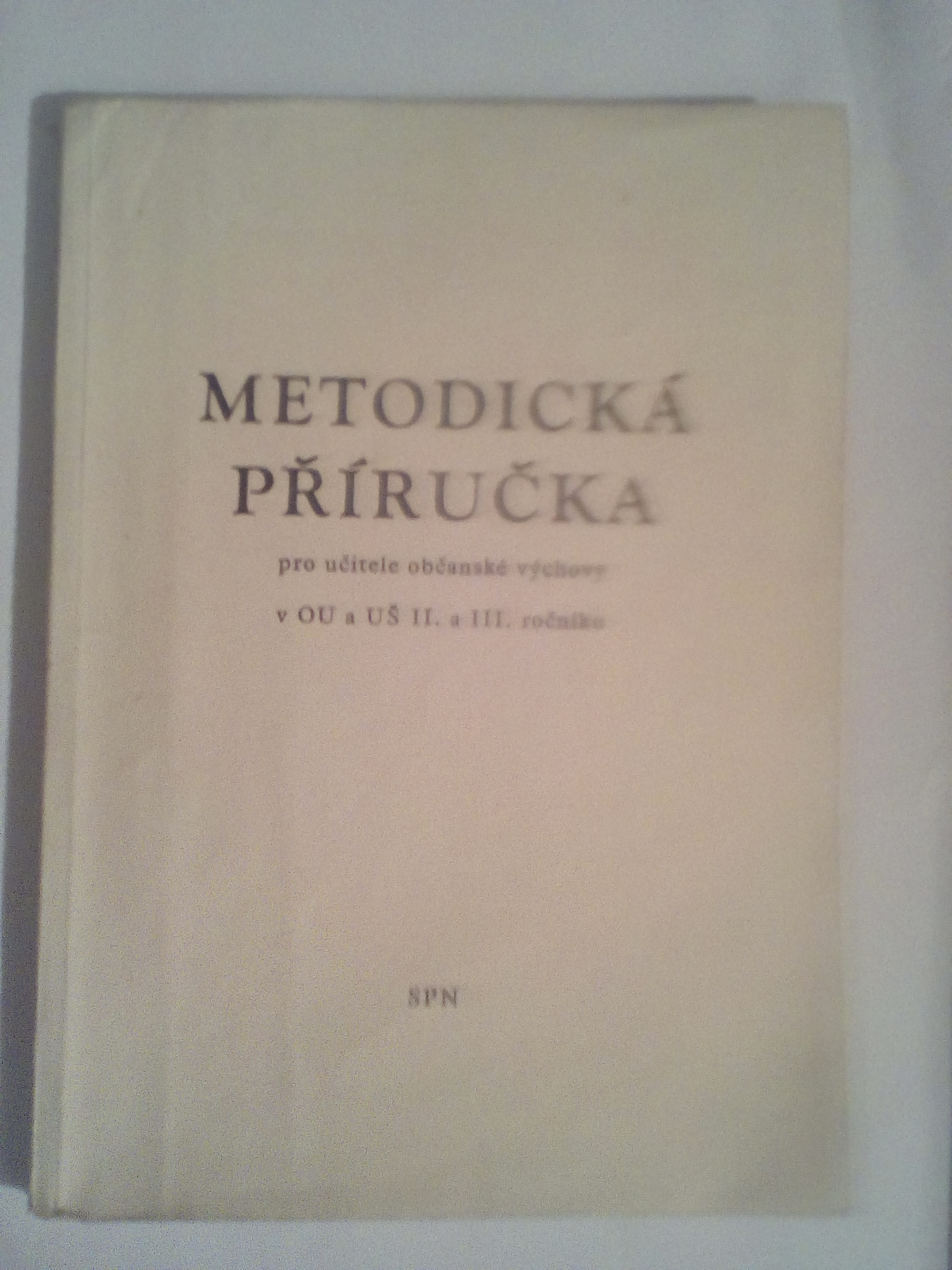 Metodická příručka - kolektiv autorů