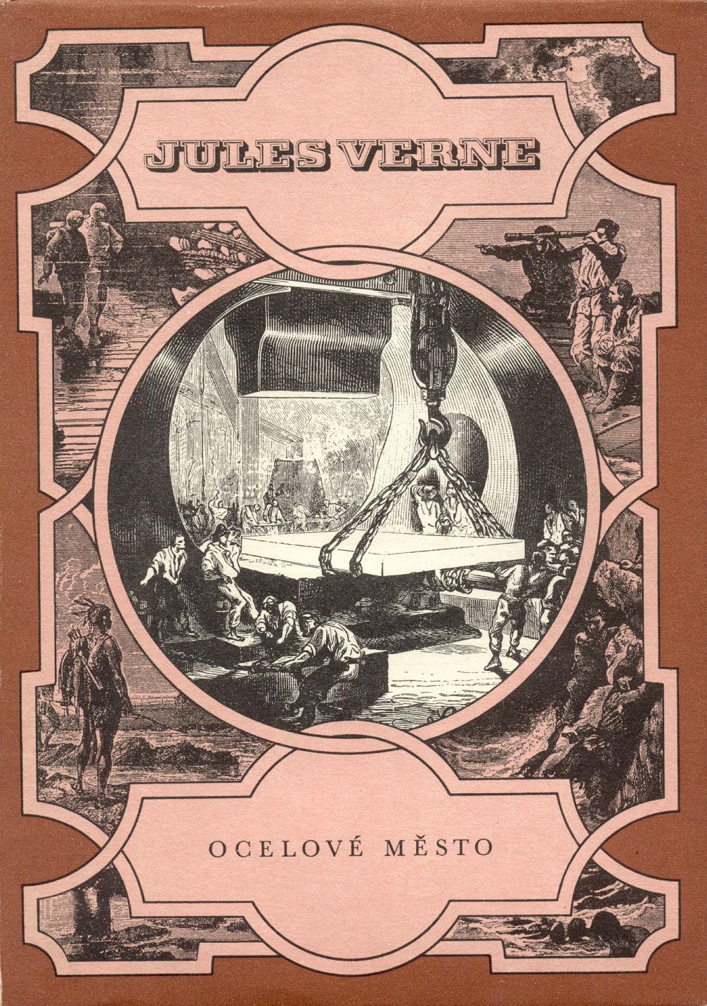 Ocelové město - Jules Verne