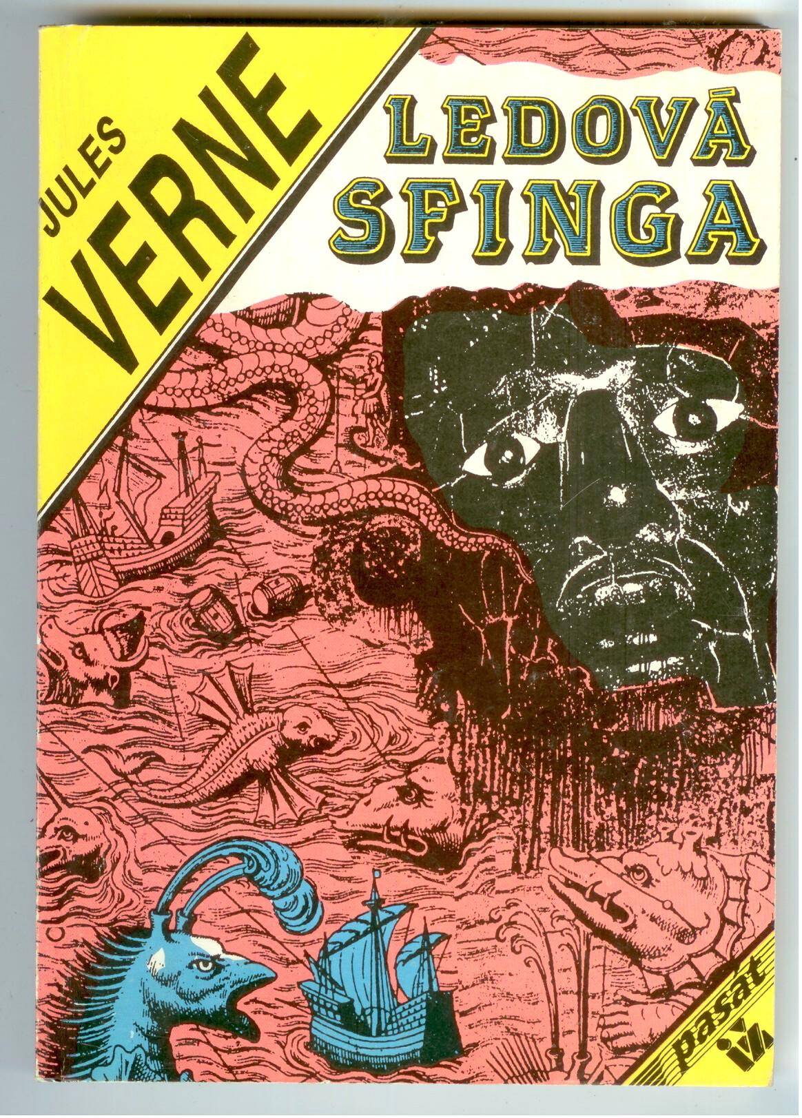 Ledová sfinga - Jules Verne