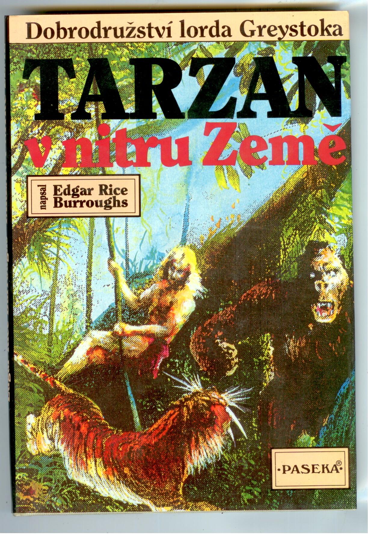 Tarzan v nitru Země - Edgar Rice Burroughs