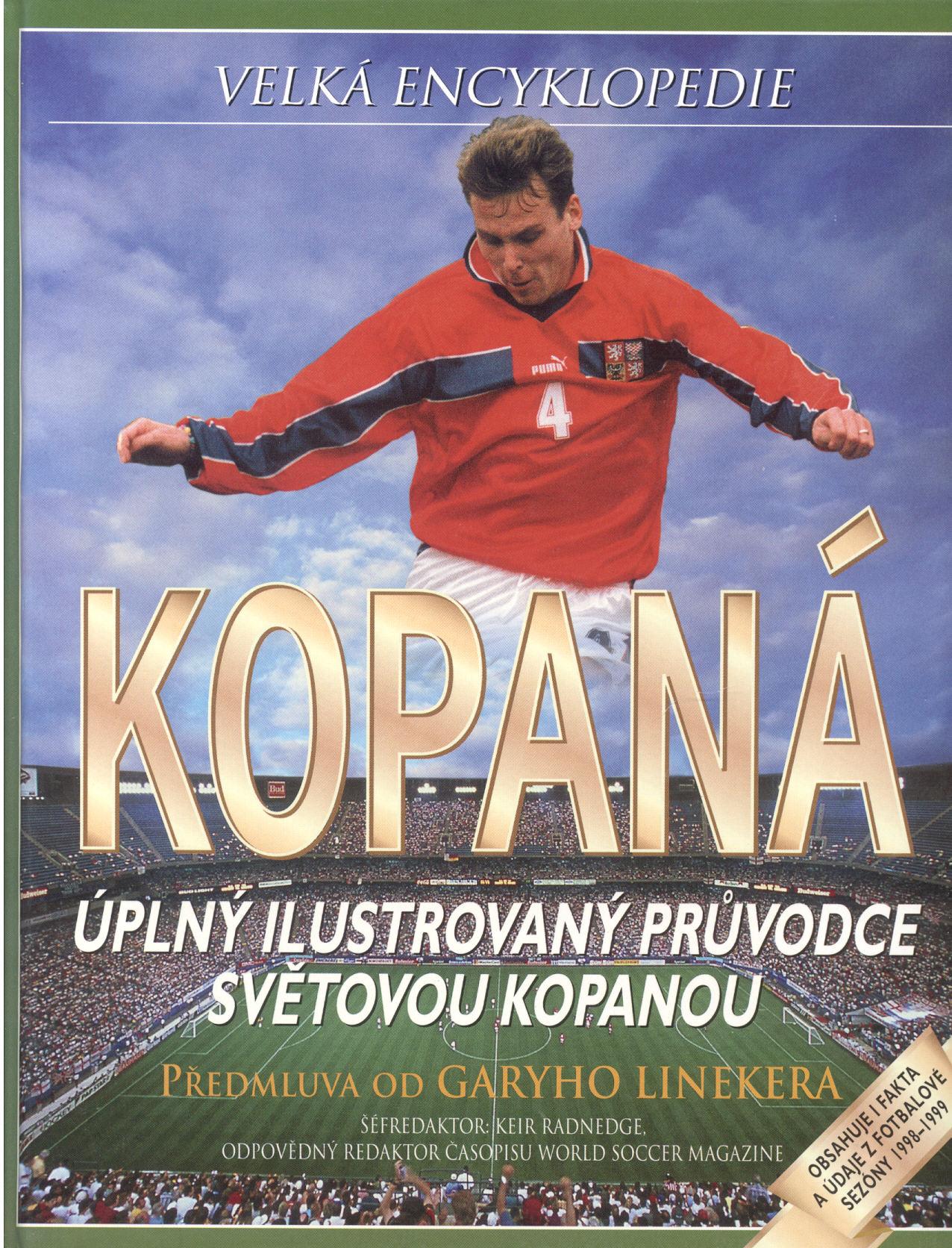 Velká encyklopedie: Kopaná - Keir Radnedge