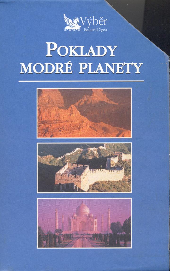 VHS kazeta - Poklady modré planety (3 kazety v setu)