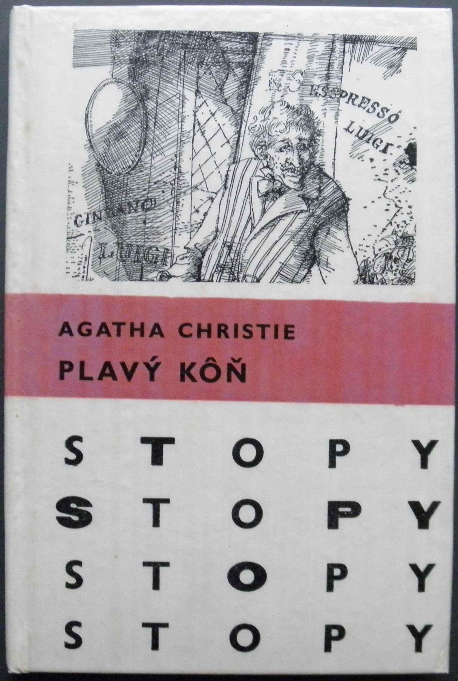 Plavý koň - Agatha Christie