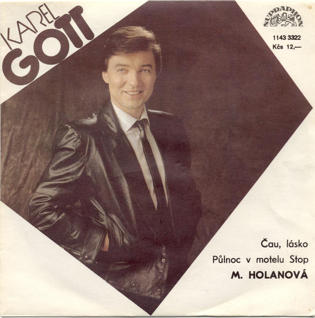 Gramodeska - Čau, lásko, Půlnoc v motelu Stop - Karel Gott, Marcela Holanová