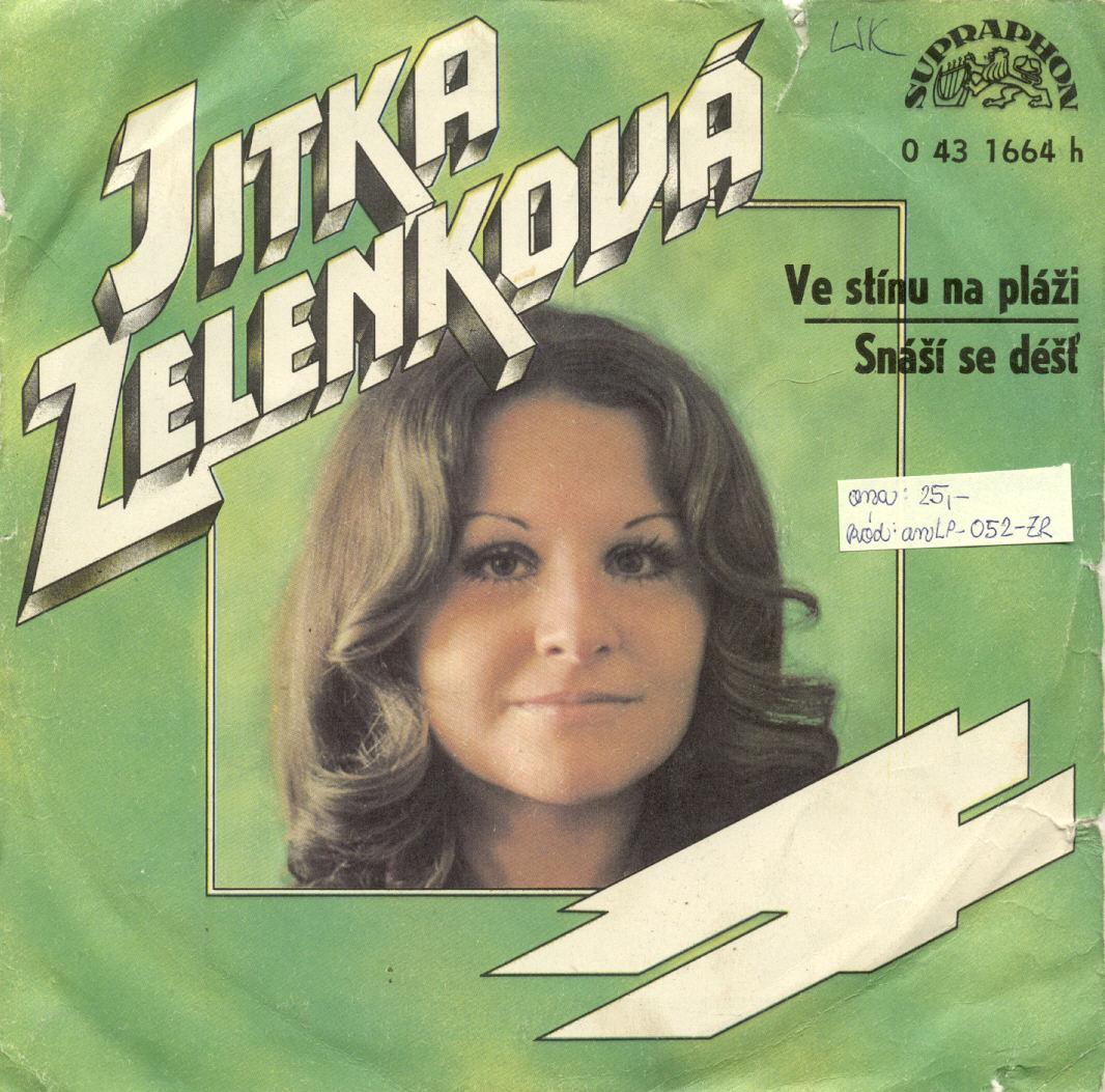Gramodeska - Ve stínu na pláži, Snáší se déšť - Jitka Zelenková