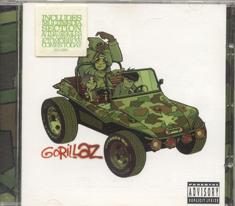 CD - Gorillaz