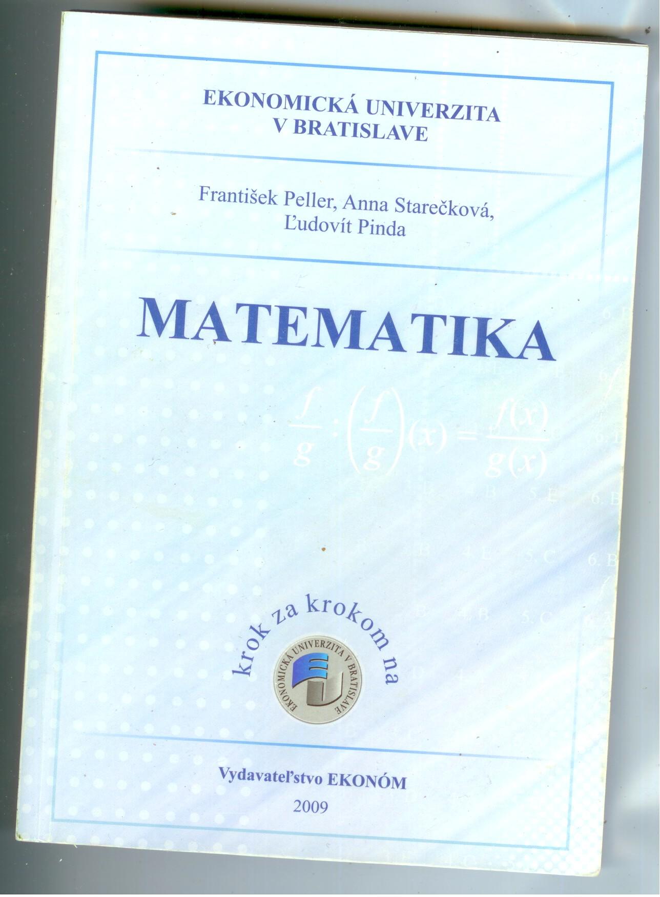 Matematika - František Peller, Anna Starečková, Ľudovít Pinda