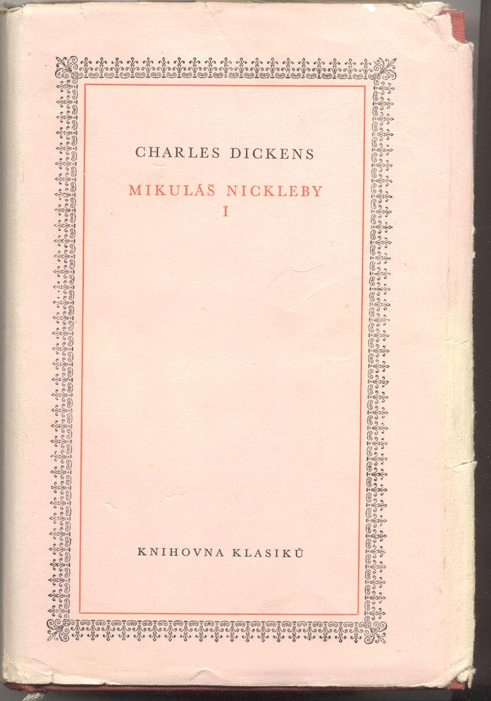 Mikuláš Nickleby I - Charles Dickens