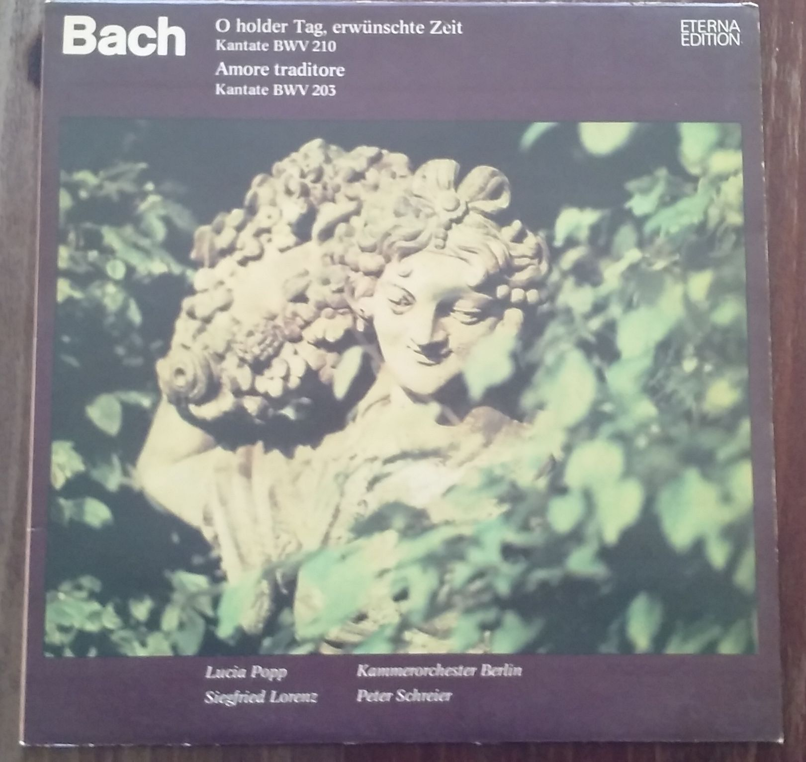 Bach - O holder Tag, erwünschte Zeit - Kantate BWV 210 (LP, gramodeska)