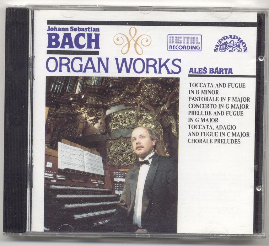 CD - Organ Works - Johann Sebastian Bach