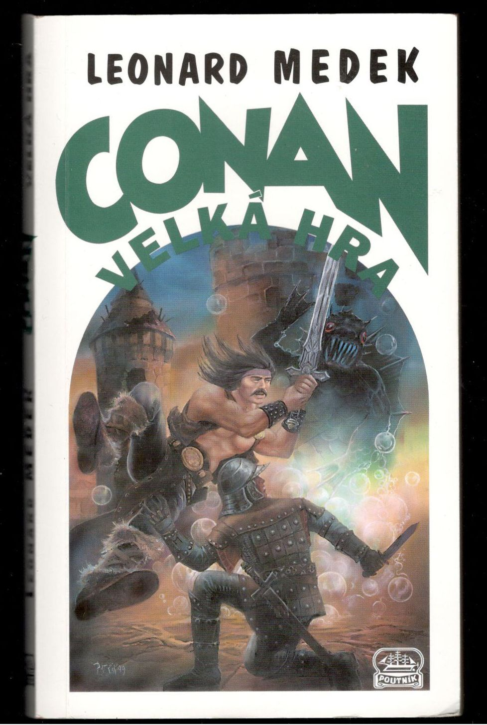 Conan a velká hra - Leonard Medek