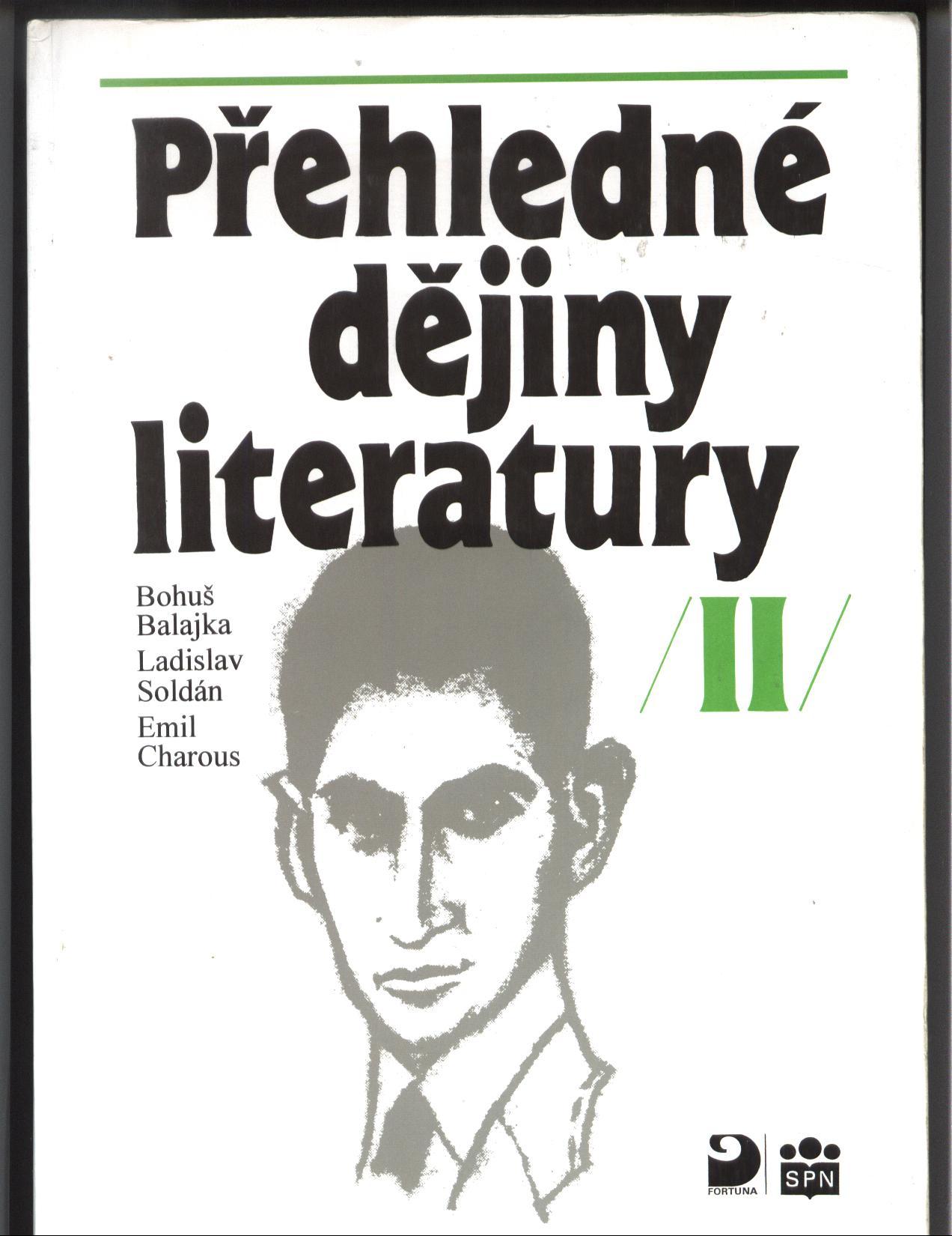 Přehledné dějiny literatury II - kolektiv autorů