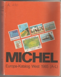 Micehl Europa-Katalog West 1985 (A-L)