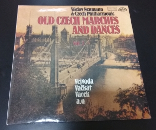 Old Czech marches and dances - Václav Neumann & Czech Philharmonic (gramodeska)