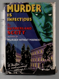 Murder is Infectious - Sutherland Scott (anglicky)