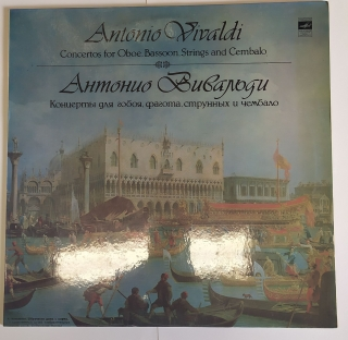Concertos for Oboe, Bassoon, Strings and Cembalo  Antonio Vivaldi (LP)