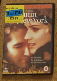 Autumn in New York (DVD - anglicky)