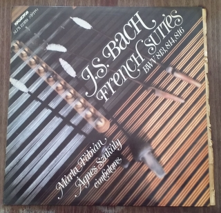 J. S. Bach - French Suites (LP, gramodeska)